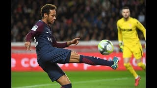 Neymar's magical skills for Paris Saint-Germain against AS Monaco