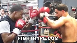 ERROL SPENCE VS. DANNY GARCIA SIDE-BY-SIDE MITT WORK COMPARISON; SEPTEMBER SHOWDOWN IN WORKS