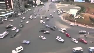 trafik lambası olmayan endenozya