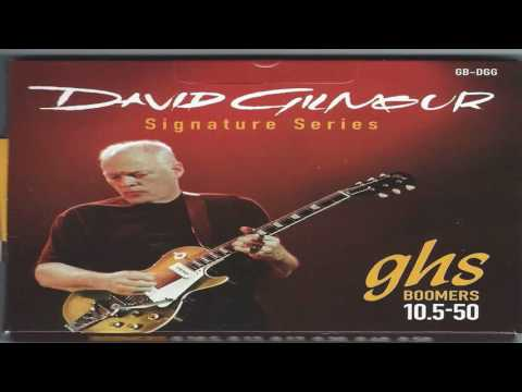 GHS Strings GB DGF David Gilmour Signature Series Nickel Plated Electric Gu