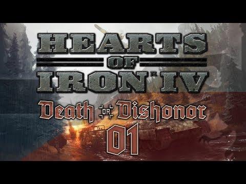 Hearts of Iron IV DEATH OR DISHONOR #01 CZECHOSLOVAKIA - HoI4 Czechoslovakia Let's Play