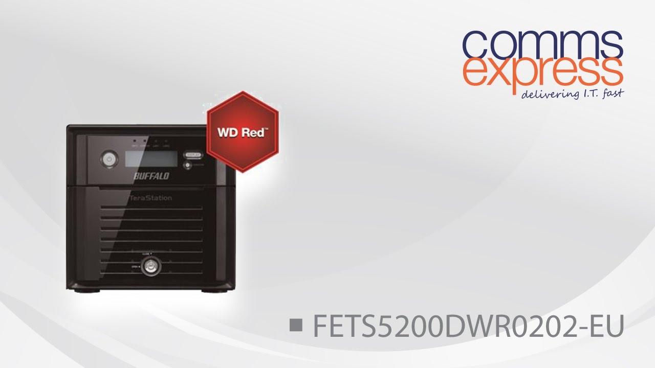 2TB Buffalo TeraStation 5200 Series NAS