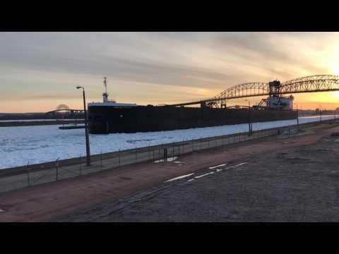 Great Lake Freighter American Century