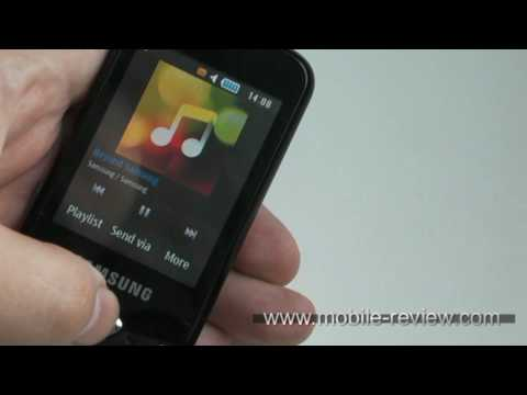 Samsung Corby 3G S3370 Demo
