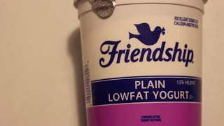 Ultimate Unboxing - Friendship Plain Lowfat Yogurt!