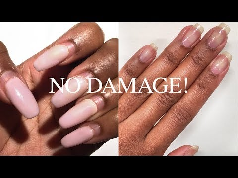 How to Safely Remove Acrylic or Gel Nails without Breakage in Bradenton ,Florida