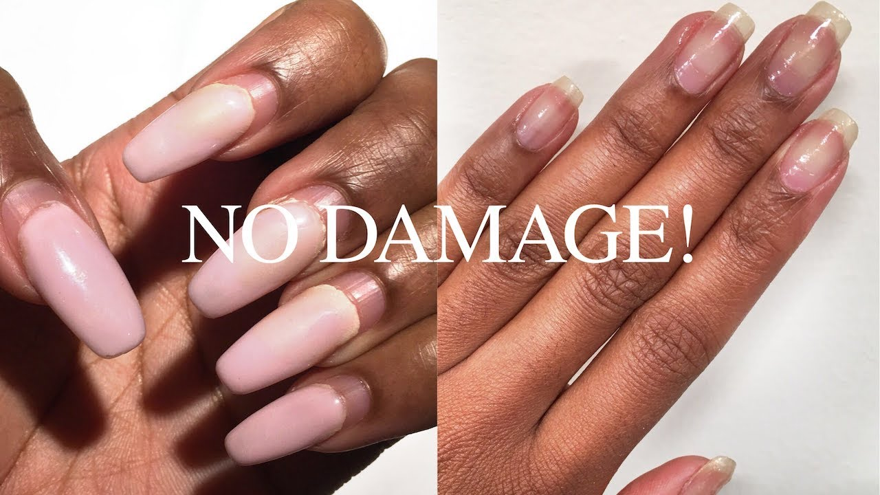 How To Safely Remove Acrylic  Gel Nails WITHOUT Breakage