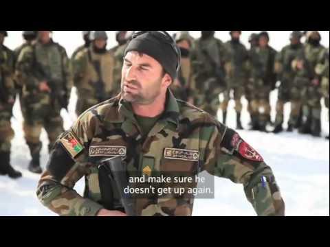BRAVE AFGHAN ARMY COMMANDOS