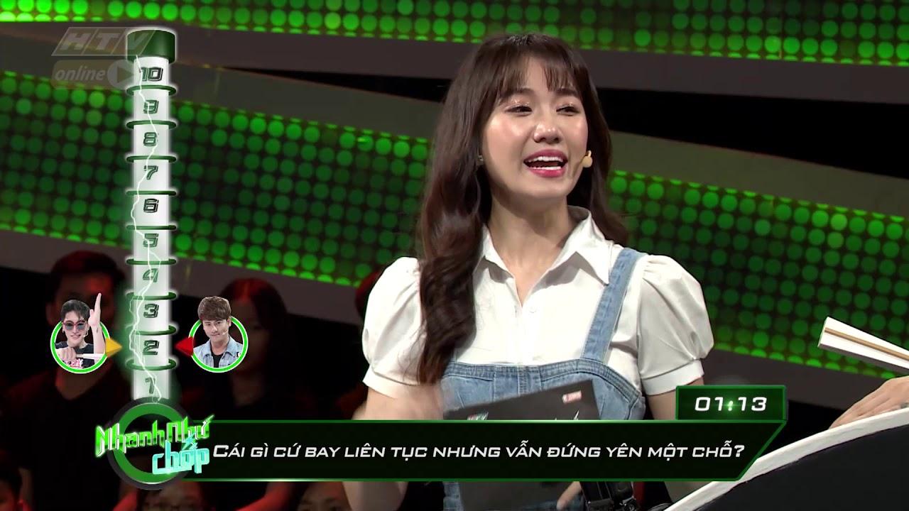 image Châu Đăng Khoa ghi điểm liên tục ở những giây cuối | HTV NHANH NHƯ CHỚP | NNC #24 | 15/9/2018