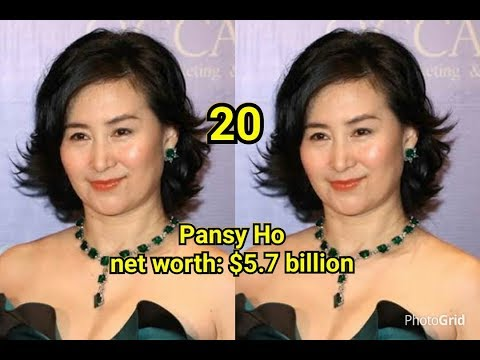 Top 20 richest woman in the world with their net worth latest 2018