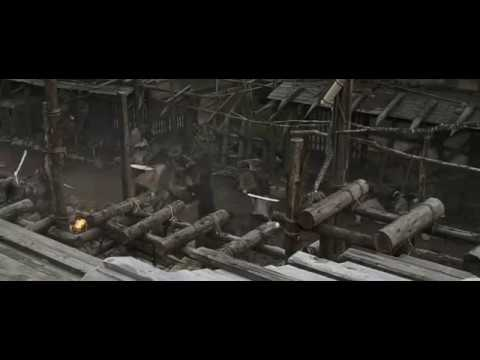 13 Assassins (2010) - Multiple Sword Fight Scene