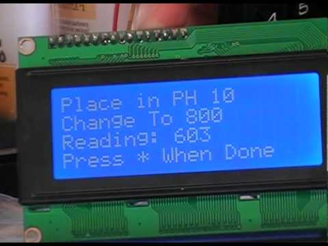 pH Meter Using Arduino Board For Glass Electrode