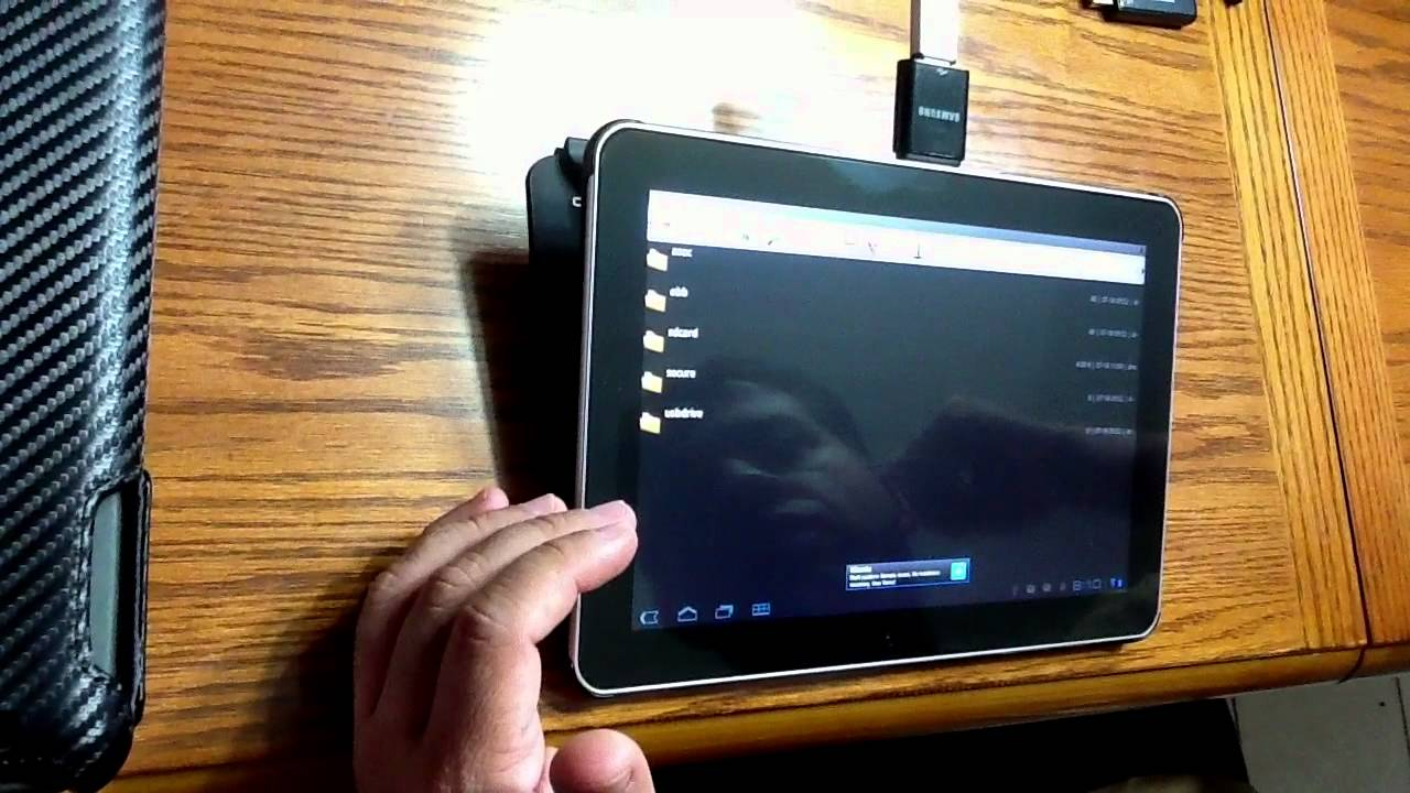 Samsung Galaxy Tab 10 1 Usb Adapter Review Youtube