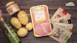 Курица и картошка в духовке