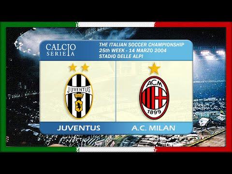 Serie A 2003-04, Juve - AC Milan (Full, RU)