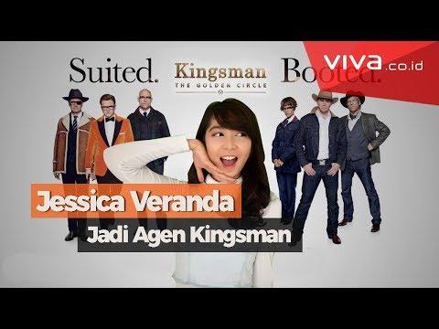 Jessica Veranda JKT48 Dilatih Menjadi Agen Kingsman