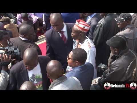 Watch dramatic moment Energy Mutodi is chucked out of Zanu PF rally