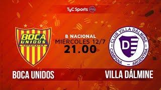 Boca Unidos vs Villa Dálmine full match