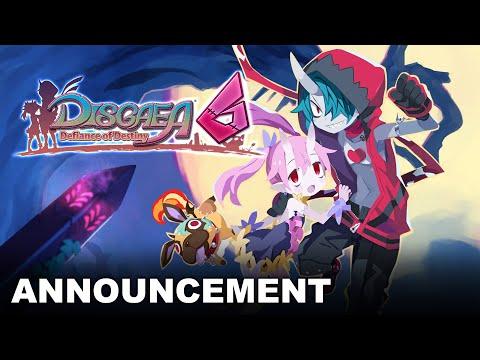 Disgaea 6: Defiance of Destiny - Announcement Trailer (Nintendo Switch)