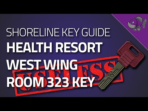 West Wing Room 323 Key - Key Guide - Escape From Tarkov