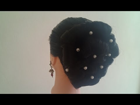 Hairstyle for wedding , party, occasion.. thumbnail