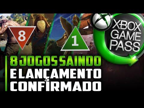EITA! NOVO JOGO LANÇAMENTO CONFIRMADO e DESPEDIDAS do XBOX GAME PASS em BREVE!