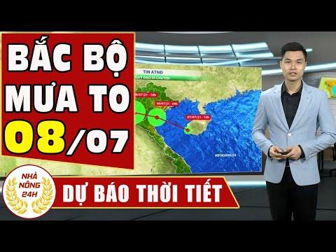 Dự báo thời tiết hôm nay mới nhất ngày 8/07 2021 Dự báo thời tiết 3 ngày tới