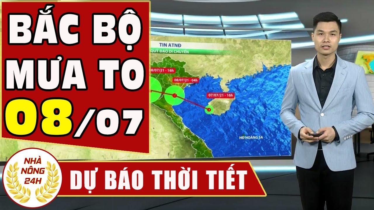 Dự báo thời tiết hôm nay mới nhất ngày 8/07 2021 Dự báo thời tiết 3 ngày tới | Thông tin thời tiết hôm nay và ngày mai