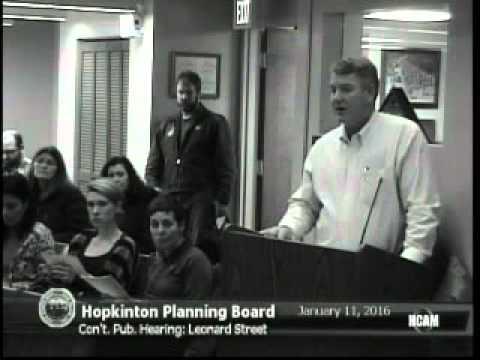 Planning Board 01/11/2016