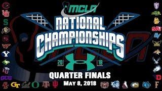 No. 7 Montana State vs. No. 2 North Dakota State   MCLA D2 Nat'l Championships - Quarterfinal
