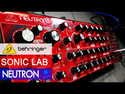 Sonic LAB Behringer Neutron Desktop Semi-Modular Review