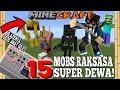 GILA! 15 MOBS TITAN RAKSASA EVOLUSI YANG HARUS KAMU SPAWN!  - Minecraft Horror Experiment #6