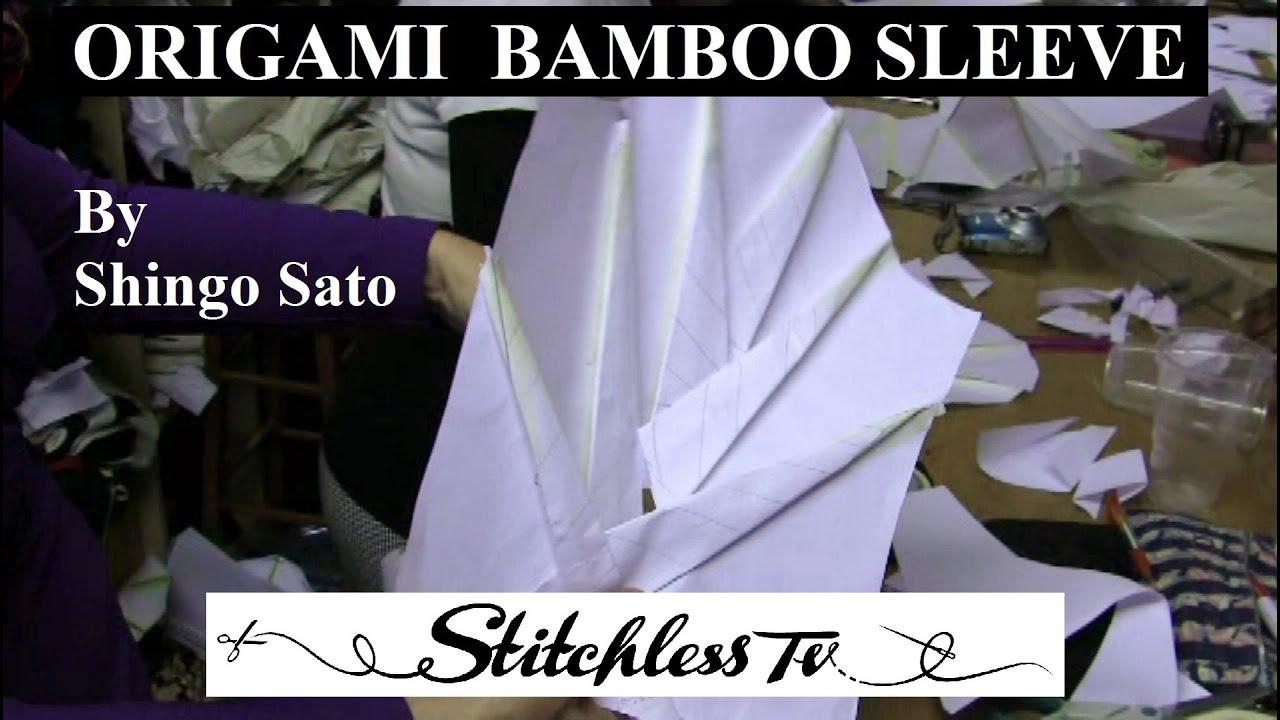 Origami bamboo sleeve youtube jeuxipadfo Gallery