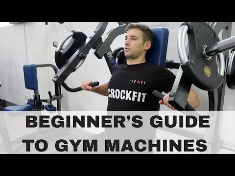 How To Use Gym Machines! Upper Body
