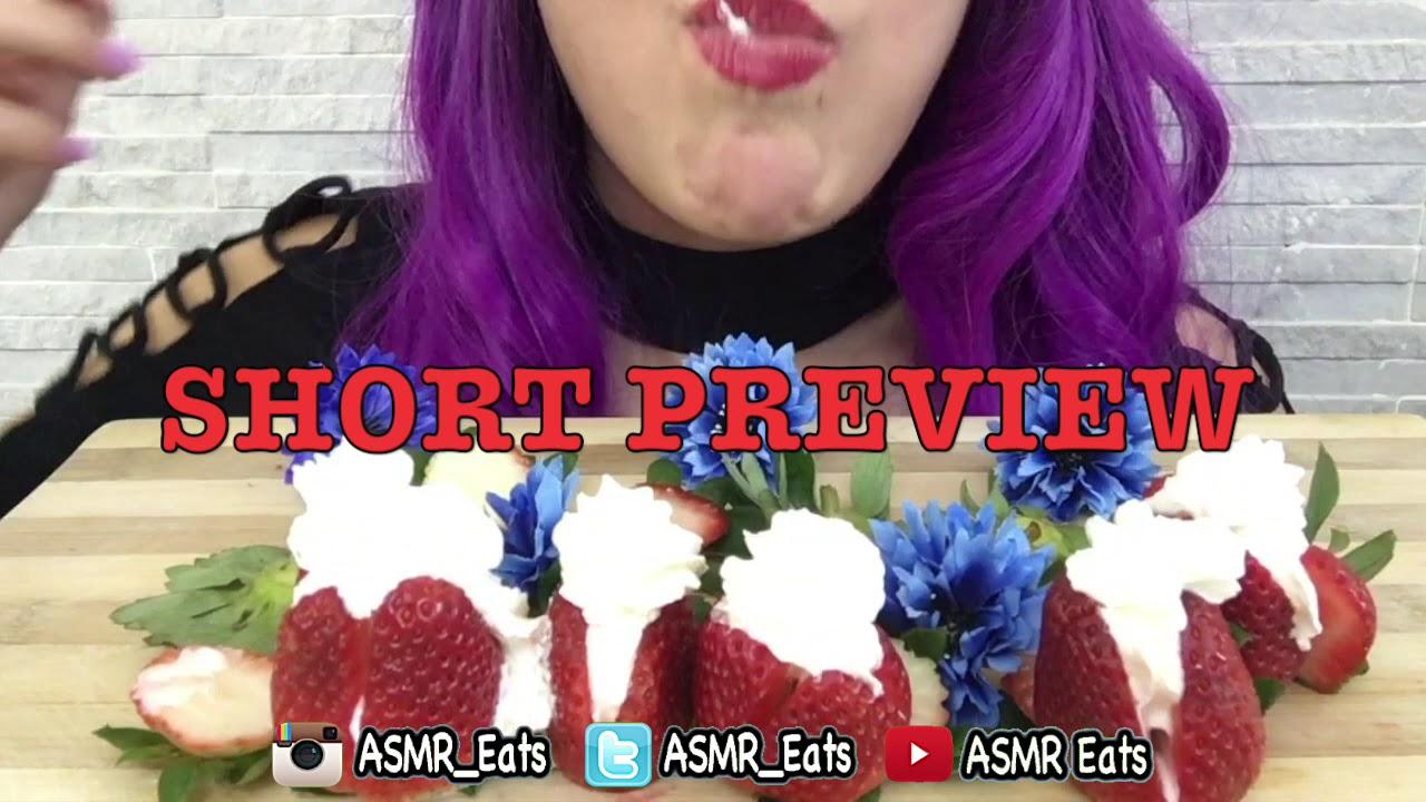PREVIEW ASMR STRAWBERRIES & CREAM