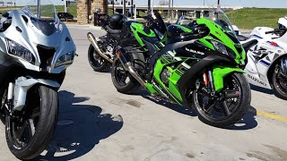 Kawasaki ZX10R vs GSXR 1000 vs BMW S1000RR - T2K19 Part 1
