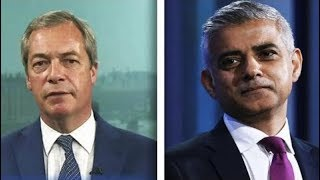 You Are Completely Clueless - Nigel Farage SCHOOLS Sadiq Khan in Heated Exchange