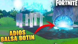 BALSA BOTIN DISAPPEARS! FINAL EVENT AND THE BUNKER IS OPEN SEASON 9 FORTNITE