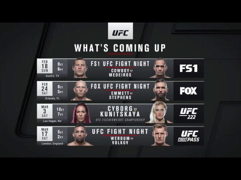 UFC 221: Romero vs Rockhold