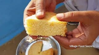 Sponge Cake Without Oven | Soft Sponge Cake | Basic Plain & Soft Sponge cake | Village Food Secrets