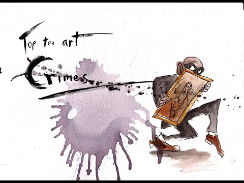 The pretentious show ep10: Top 10 art crimes
