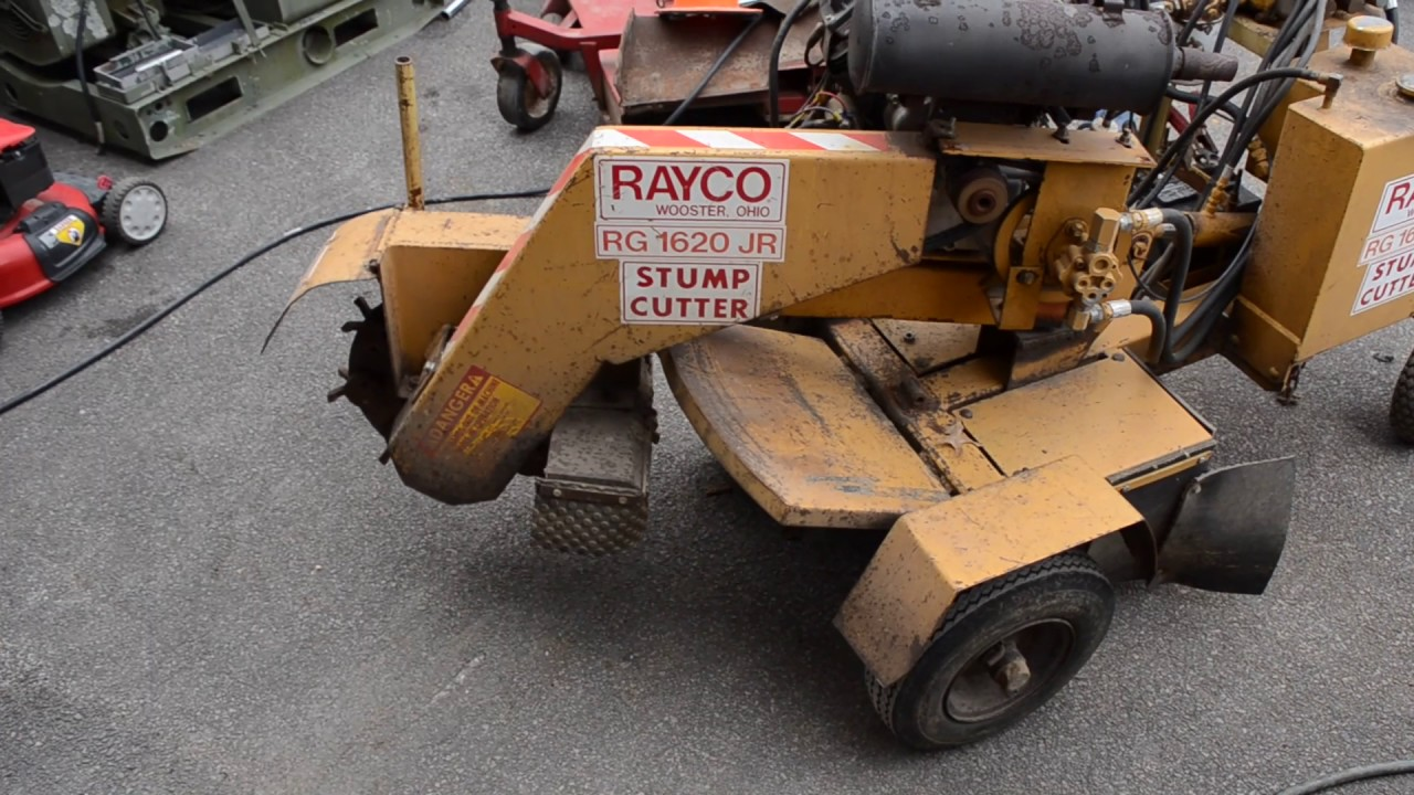 Rayco RG 1620 JR Hydraulic Stump Cutter Grinder Kohler 20HP