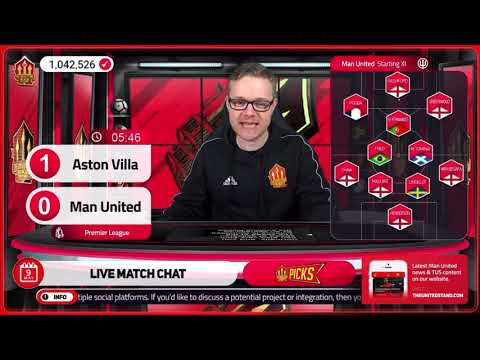 GOLDBRIDGE Best Bits | Aston Villa 1-3 Manchester United