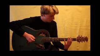Some popular electro songs mixed and played on Acoustic Guitar. Six...