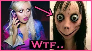 CALLING MOMO! The Truth about MOMO.. Scary Cursed Phone Number