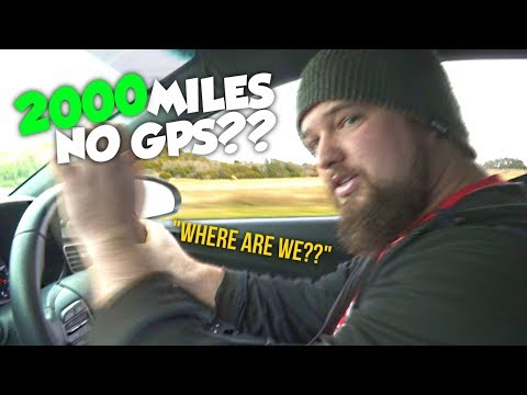 Can I Get To Las Vegas Without Using GPS Or Maps? I Put $100 On Red For Every Hour I'm Late