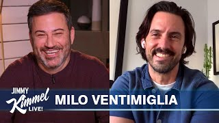 Milo Ventimiglia on Meeting the Bidens & Oprah, Tommy Lasorda's Passing and Directing This Is Us
