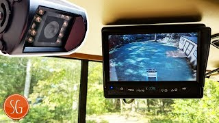 How to install Backup Camera for your RV // Rear View Safety Backup Camera System