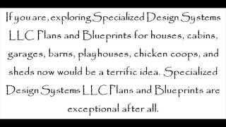 Plans And Blueprints For Houses, Cabins, Garages, Barns, Playhouses, Chicken Coops, And Sheds
