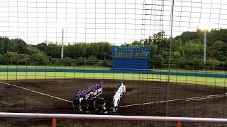 沖縄電力・伊波伸彰投手 vs 九州三菱自動車・丹羽将麻内野手